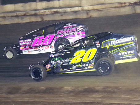 Brian Berger Holds Off Brett Hearn for Modified Victory