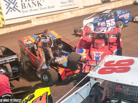 Wild Action as Tremont Doubles Down, Bachetti and Sanchez Win Big at Lebanon Valley Speedway