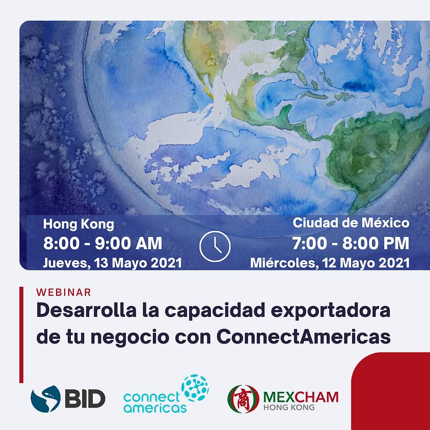 Desarrolla la capacidad exportadora de tu negocio con ConnectAmericas