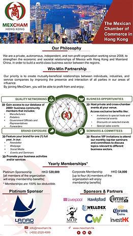 MexCham Top-Tier Memberships In A Nutshe