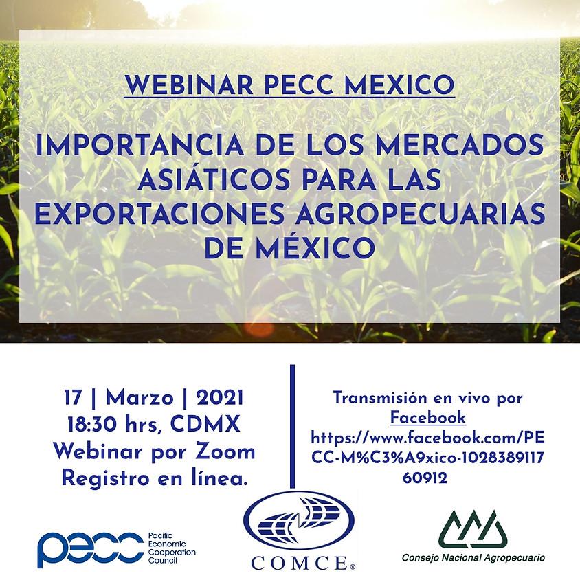 Importancia de los mercados asiáticos para las exportaciones agropecuarias de México