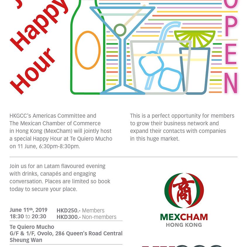 Joint Happy Hour MexCham HK & HKGCC