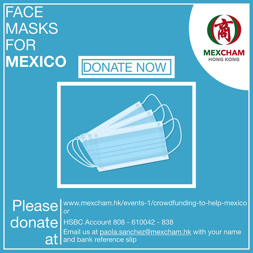 Crowdfunding to help Mexico