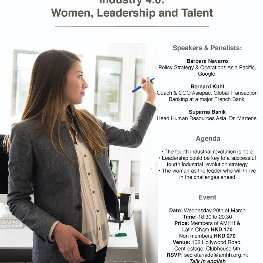 Industry 4.0: Women, Leadership and Talent