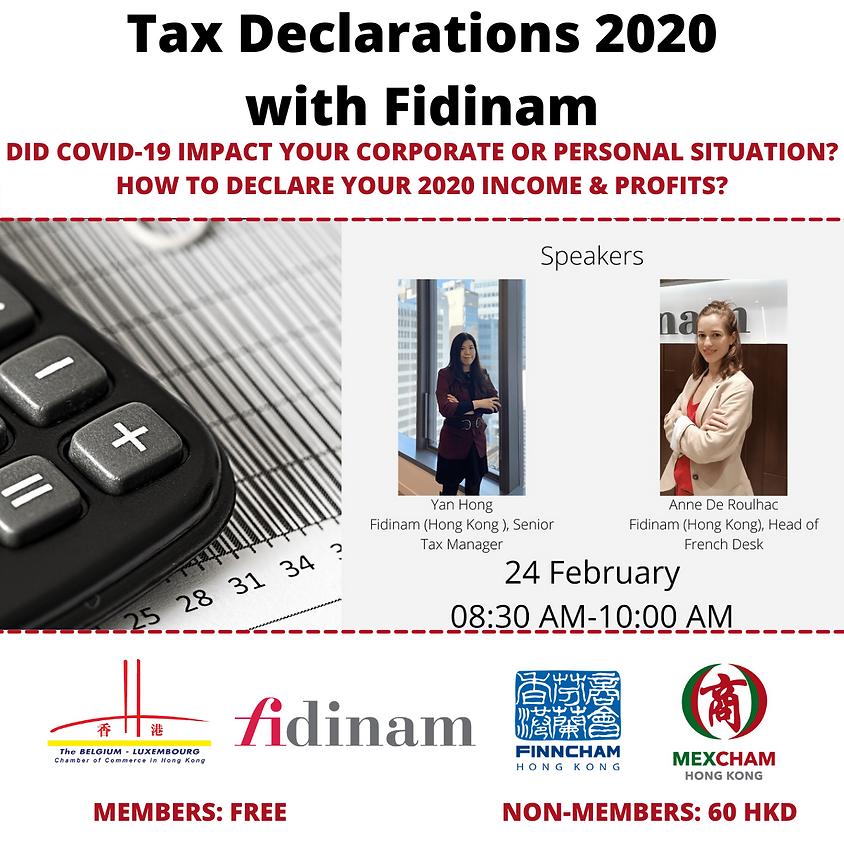 HK TAX DECLARATIONS 2020 WITH FIDINAM