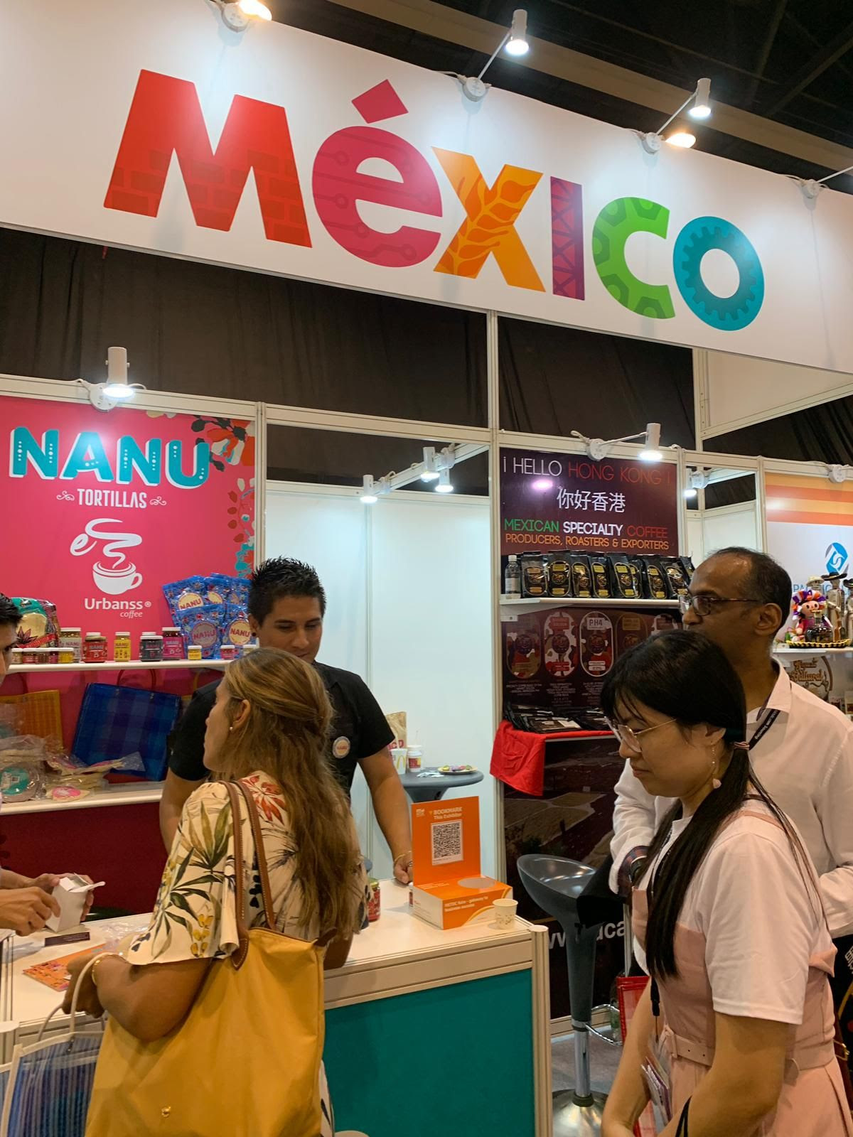 Mexico Pares In Hk Food Fair