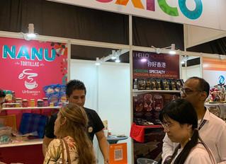 MEXICO PARTICIPATES IN HK FOOD FAIR