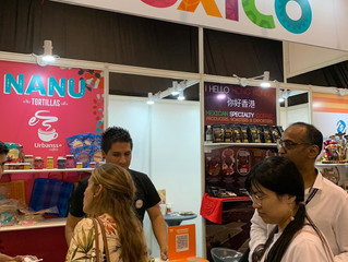 MEXICO PARTICIPATES IN HK FOOD FAIR