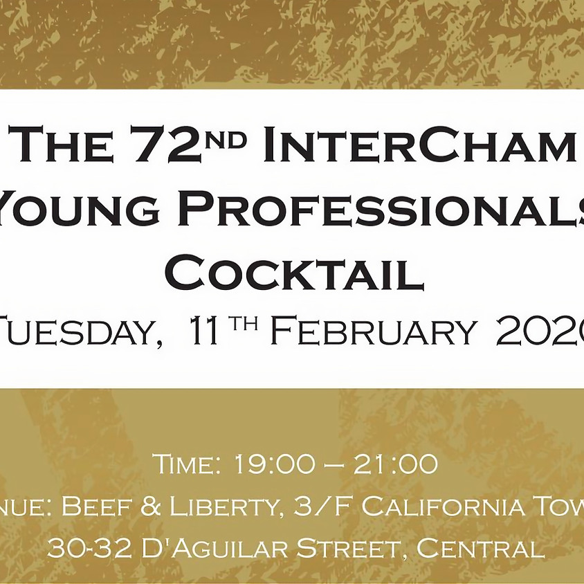 The 72th InterCham Young Professionals Cocktail