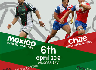 Latino Brothers Meet & Greet. Mexico and Chile Rugby Sevens