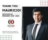Thank you, Mauricio!