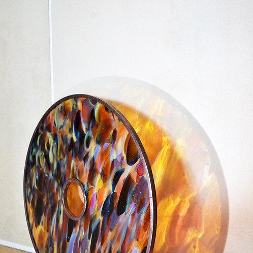 Record Glass Shade(L)- Glassic