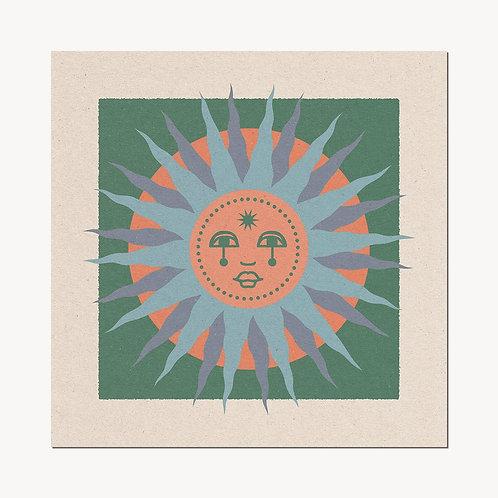 'Sun Face II' Print - cai&jo