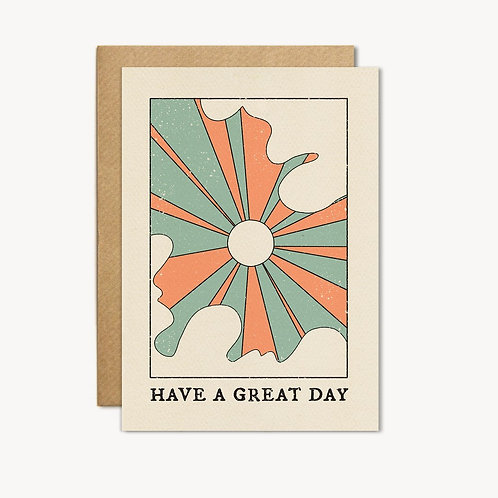 Have a Great Day Card - cai&jo
