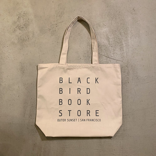 BLACK BIRD BOOK STORE Tote Bag