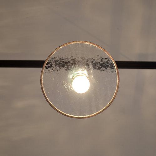 Record Glass Shade 7inch (B)- Glassic
