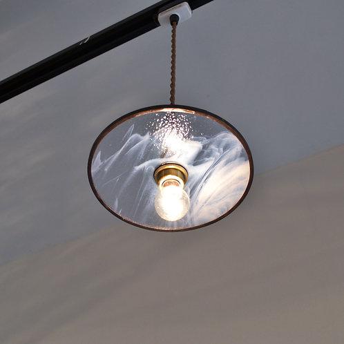 Record Glass Shade 7inch (F)- Glassic