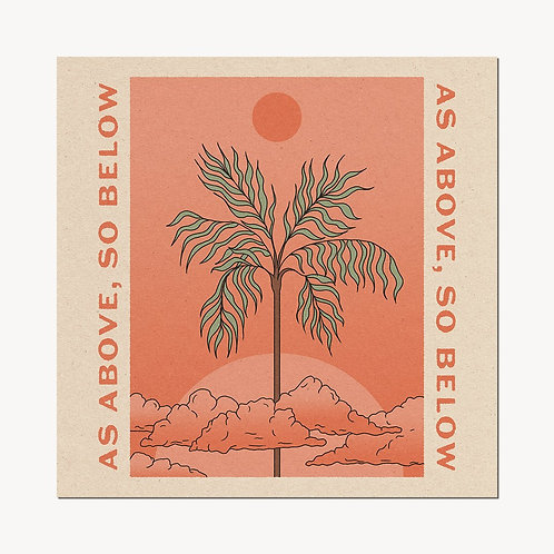 'As Above, So Below' Print - cai&jo