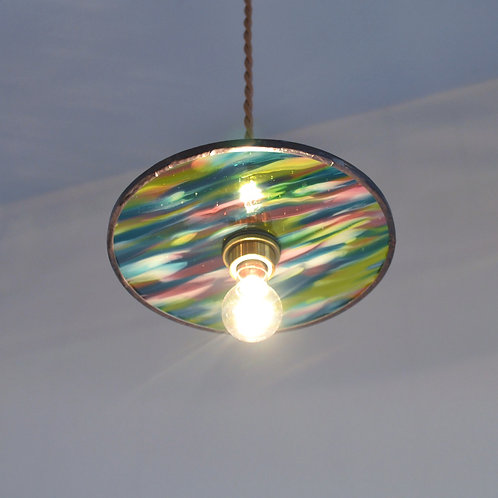 Record Glass Shade 7inch (J)- Glassic