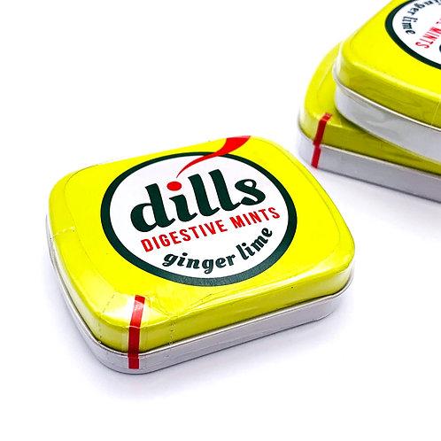"Dills ""ginger lime"""