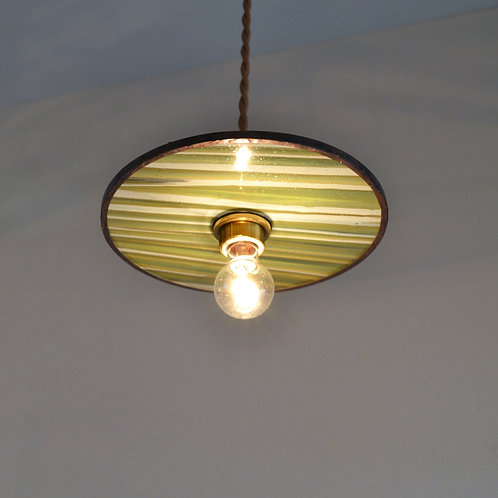 Record Glass Shade 7inch (D)- Glassic