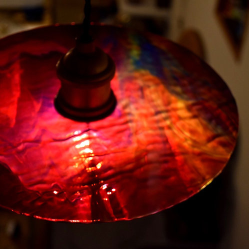 Record Glass Shade(D)- Glassic