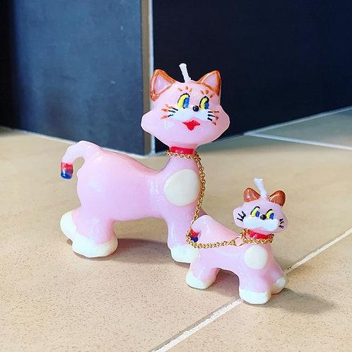 PINK CATS ー OLGA-goosecandles-