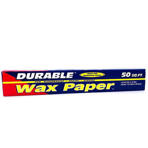 DURABLE WAX PAPER