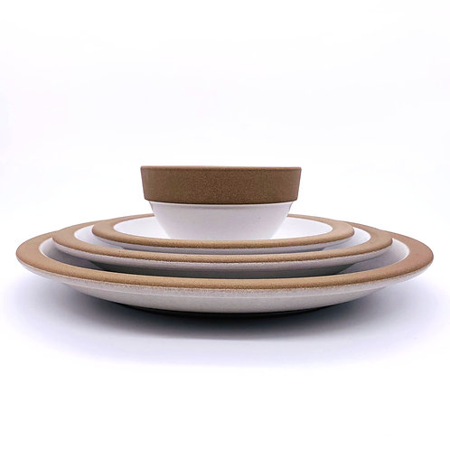 "HEATH CERAMICS ""Rim Line White"""
