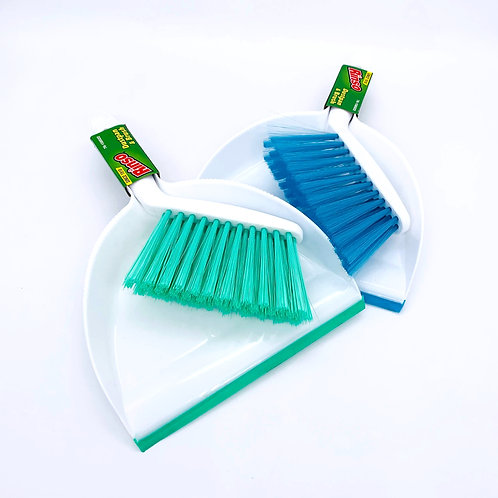 Rinso PLASTIC DUST PAN WITH BRUSH