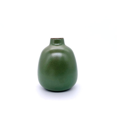 "HEATH CERAMICS ""Bud Vase in Penny Green"""
