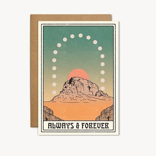 Post Card - Always & Forever