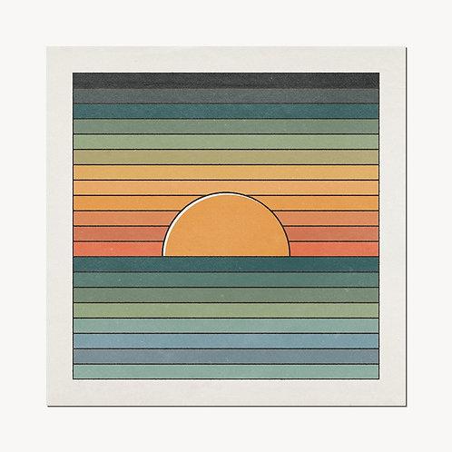 'Sinking Sun' Print - cai&jo