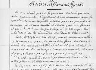 La vie du temps de la famille d'Adrien Gonnet