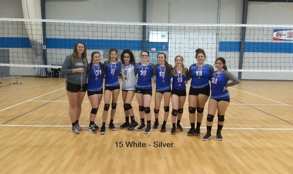 15 White
