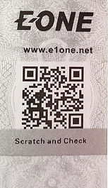 Verification security code for EONE original products, mobile, car charger, EONE, accessories, cable, power bank, micro, lightning, anker, zendure, aukey, ravpower, aux