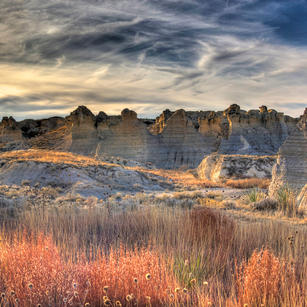 Little Jerusalem Badlands State Park - Honorable Mention