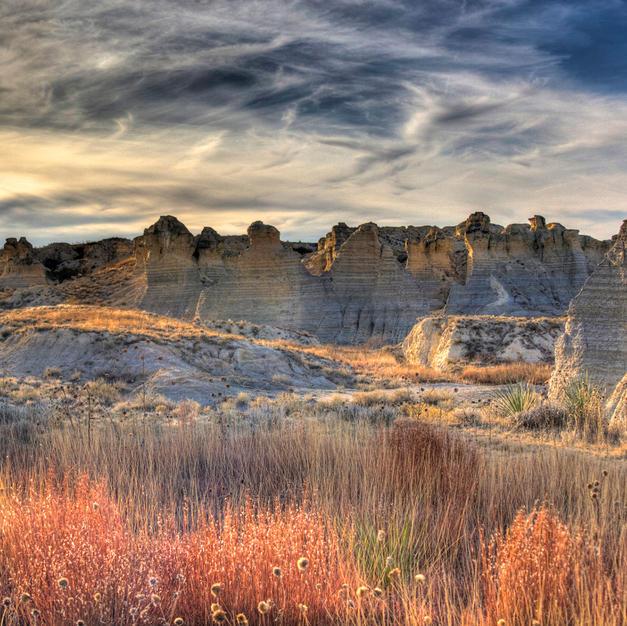 Little Jerusalem Badlands State Park - Honorable Mention