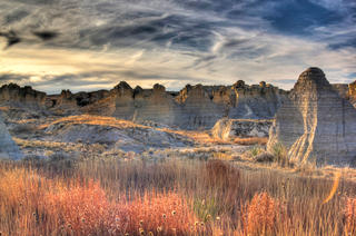 Honorable Mention: Little Jerusalem Badlands State Park