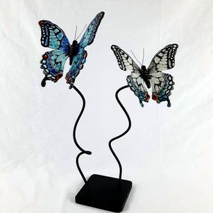 Swallowtails in Flight
