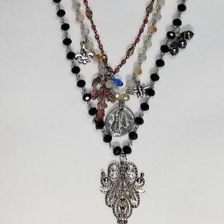 Honorable Mention: Black Tassel with Charms
