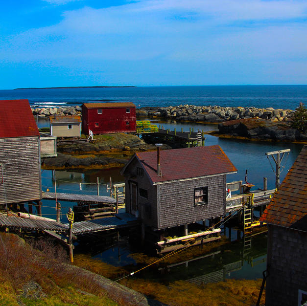 Nova Scotia Fishing Shacks