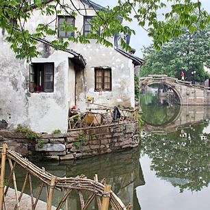 Canal Houses Zhouzhuang China
