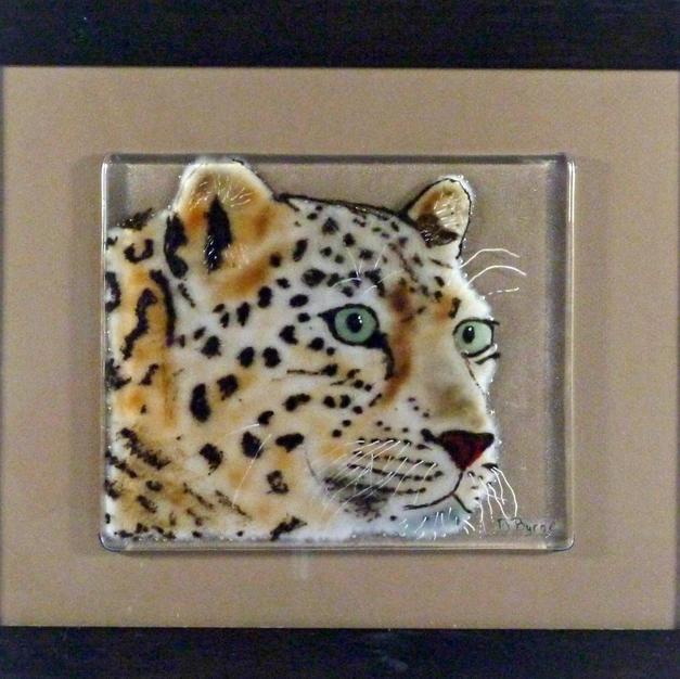 Watchful Leopard