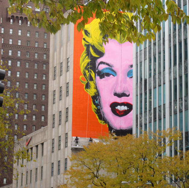 Marilyn on Michigan, Chicago