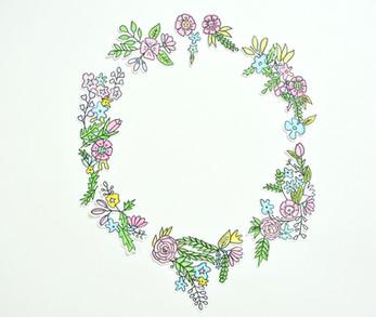 פרחים מאוירים 2