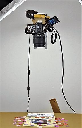 הצבה אנכית של מצלמת ריפלקס