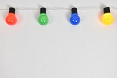 נורות צבעוניות