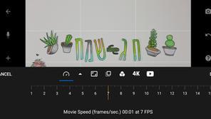 9- הגדרות מהירות התמונות- כמות התמונה שיופיעו בשנייה