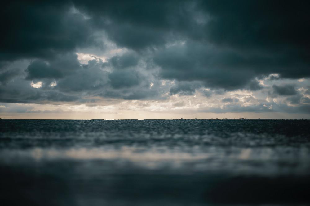 Storm clouds gathering in Virginia Beach